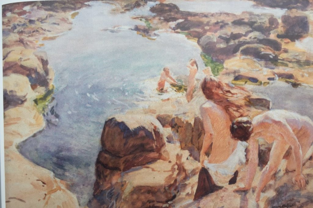 Laura Knight - The Bathing Pool
